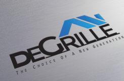 Logo mockup-degrille