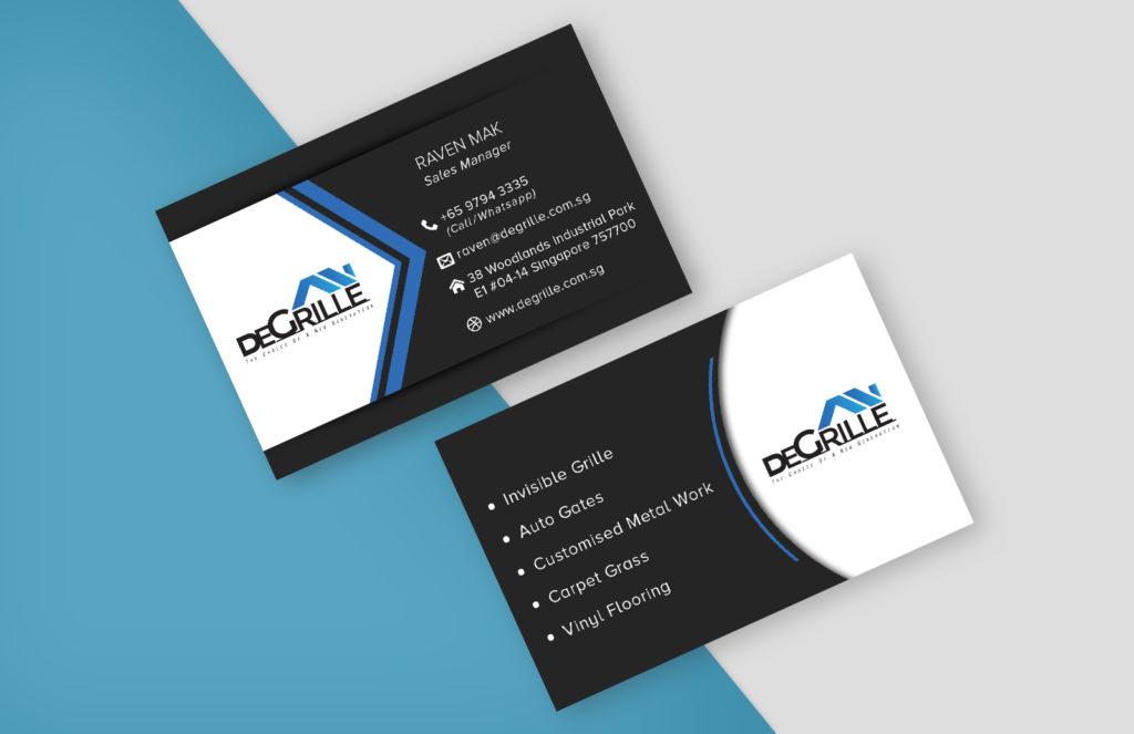 Name Card Design Portfolio - LOGIN MEDIA MARKETING PTE LTD